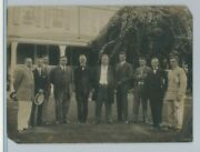 President Taft With His Newspaper Cabinet At Summer White House In Beverly, Ma