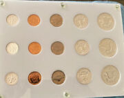 1958 United States Uncirculated Coin Set In Plastic Holder. This Is 3 Sets