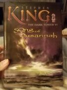Song Of Susannah - Dark Tower Vi By Stephen King First Edition Hardcover