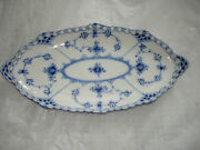 Serving Dish 1115 - Blue Fluted - Royal Copenhagen - Full Lace - 2nd Quality