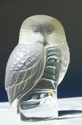 Lalique Owl Owl Paperweight First Introduced 1931mintdelightful