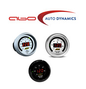 Aem For Uego Wideband A/f Ratio+transmission /oil /water Temp 3 Gauges Combo Set