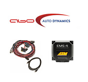 Aem Universal Programmable Ems-4 And Flying Lead Harness W/ Fuse And Relay Panel
