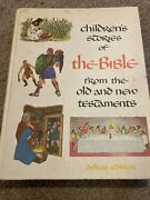 Vintage Childrens Stories Of The Bible New And Old Testament 1968