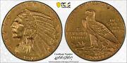 1910 2.50 Gold Indian Head Quarter Eagle Pcgs Xf Detail Cleaned Us Mint Coin