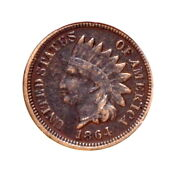 1864 Indian Head Cent Andndash Copper/nickel - Corroded - Anacs F15 Details