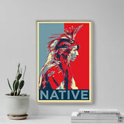 Historic American Art Print And039hopeand039 - Photo Poster Gift - Indian Cree Geronimo