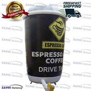 Inflatable Coffee Cup Model Advertising Promotion With Air Blower - 6.6x16ft