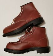 Red Wing 6in Oil Resistant Long Wear Work Steel Toe Safety Boots8249 Mens Size 9