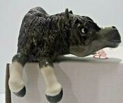 Pony Comical Cheval Model Collectible Horse Figurine Cheval Ledge Hanger