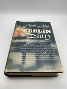 Berlin Diary By William L Shirer Cbs 1941 Knopf 1st Edition