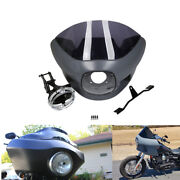 7 Upper Fairing Cowl Windshield Headlight Mount Fit For Harley Dyna Fxdl Fxdb