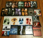 /1543 The X-files Complete Series Seasons 1 To 11 And Films Dvd And Blu-ray Lot Oop