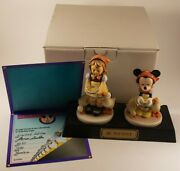 Signed Hummel Goebel Be Patient Disney Minnie Mouse Limited 85/1200 W/box