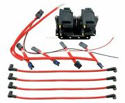 Smart Ignition Coil Packs + 10mm Wires W/ Harness And Bracket For 2003-11 Rx-8 Rx8