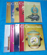 10 Monthly Issues The Antique Dealer And Collectors Guide Magazines From 1965