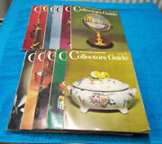 11 Monthly Issues Of The Antique Dealer And Collectors Guide Magazines From 1966