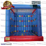 13x13ft Inflatable 3d Twister Funny Family Sport Game With Air Blower