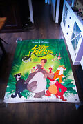 Jungle Book Walt Disney 4x6 Ft French Grande Rolled Movie Poster Rerelease 1984