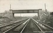 Ramsbottom Pick-up-water Troughs London And North Western Railway Postcard Landnw