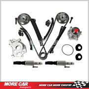 Timing Chain Kit Oil Water Pump Control Solenoid Fit 2004-2008 Ford Lincoln 5.4l