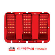 United Pacific 110106 84 Led Sequential Tail Light For 1967-68 Ford Mustang