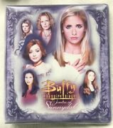 Buffy The Vampire Slayer Women Of Sunnydale Binder By Inkworks No Cards Included