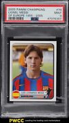 2005 Panini Champions Of Europe And03955-and03905 Lionel Messi 74 Psa 9 Mint