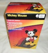 Nib Disney Mickey Mouse Atandt 1990and039s Lighted Push Button Tone Telephone My24803