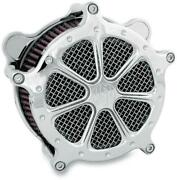 Roland Sands Venturi Chrome Speed 7 Air Cleaner For V-twin 0206-2004-ch