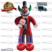 20ft Inflatable Scary Clown Giant Halloween Holiday Promotion With Air Blower