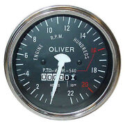 Super Late Super 55 , 550 Gas / Diesel Tractor Tachometer 100577a For Oliver