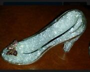 Disney Cinderella Crystal Filled Slipper Butterfly Arribas Bros Live Action