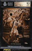 2015 Topps Fire 5x7 Into The Wild Gold Peyton Manning /10 Itwpm Bgs 9.5 Gem