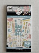 Brand New The Happy Planner Value Sticker Book Happy Plans 1360 Pieces