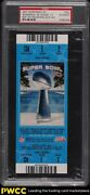 2007 Super Bowl Xii Full Ticket Blue Colts Bears Peyton Manning Mvp Psa Auth