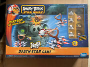 Angry Birds Star Wars Death Star Jenga Blocks Board Game For Kids / New And Sealed