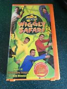 Vhs The Wiggles Wiggly Safari Vhs Vintage Hard To Find Rare