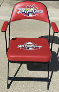 St Louis Cardinals 2009 All-star Game Used Chair W/armrests Albert Pujols Obama