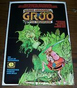11 X 17 Sergio Aragone's Groo The Wanderer, Epic 1984 Comic Shop Poster, New