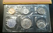 1964 Silver Proof Coin Set Us Mint Ogp Opened Treasury Envelope