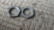 1950and039s 60and039s Ford Radio Nut Dash Knob Stem Shaft Retainer 1/2 Thread X 11/16 Gm