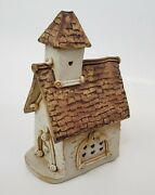 Windy Meadows Pottery Chapel Church Candle Cottage