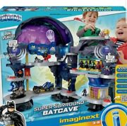 Fisher And Price Imaginext Bat Cave Playset With Surround System Dual Speakers