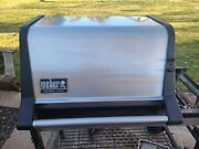 Weber Genesis Gold Part 60466 - Stainless Steel Lid Assembly - Complete - Used