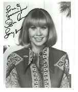 Sue Ane Langdon Autographed 8x10 And Letter Elvis Presley Roustabout Uhf