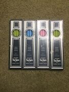 Vintage Tiny Tapers Williams Sonoma Pink Green Blue Candles Easter Spring 10inch