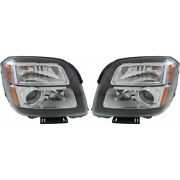 For Gmc Terrain Headlight Assembly 2013 14 15 2015 Pair Lh And Rh Side Capa