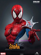 Perfect Queen Studios 1/1 Marvel Comic Spider-man Life Size Bust Statue Stock