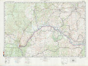 Russian Soviet Military Topographic Maps - Central African Republic 1500 000